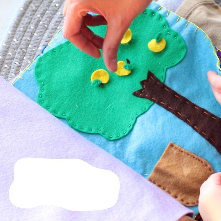 Libro sensorial ideas Libro sensorial texturas Busy Bags, Autism, Origami, Behance, Children, Videos, Desserts, Baby, Sensory Play