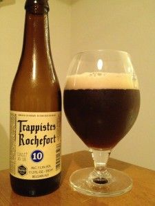 Beer review: Trappistes Rochefort 10