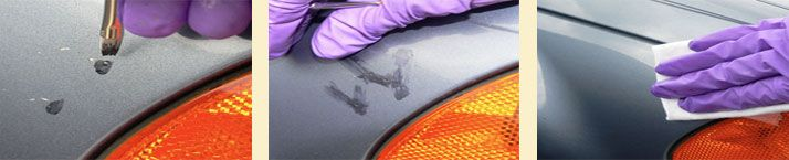Dr. Color Chip - automotive paint chip repair system.