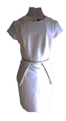 White Sheike dress size 8