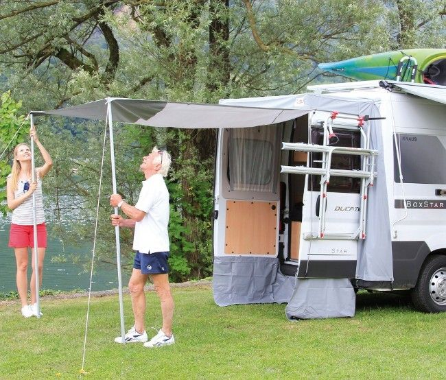 Promaster Fiamma Awning High Roof F80s Model Van Upgrades