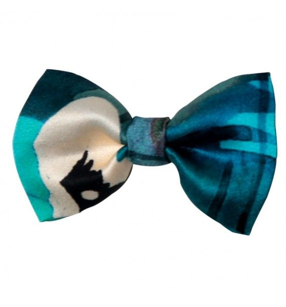 Fundita matase Blue Mirrors Tie-Me-Up