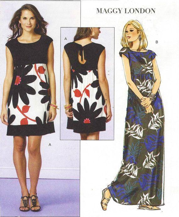 Maggy London Butterick Sewing Pattern B5456 Womens by CloesCloset
