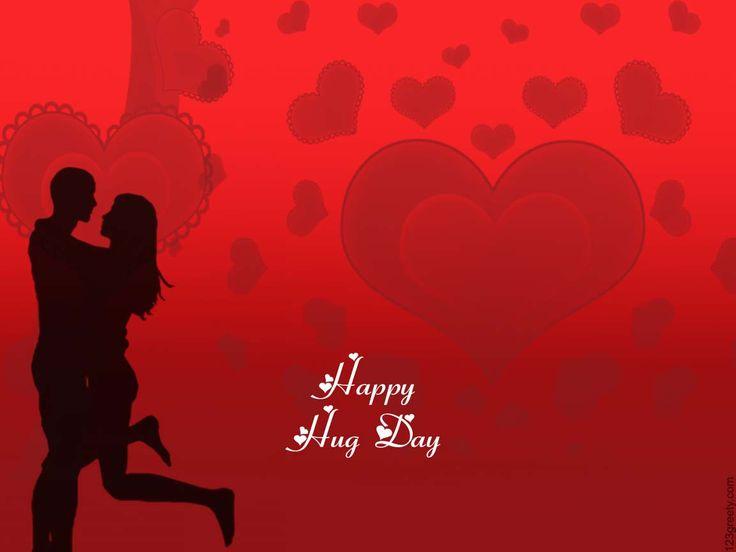 Valentine's Day Hug Day Sms