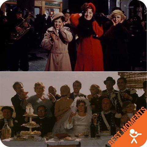 """💃AMARCORD #Commediadrammatica (Ita 1973) di #FedericoFellini con #DinaAdorni e #FrancescodiGiacomo. PREMI: Miglior #film straniero (Italia), David di Donatello come miglior film e #regia a Federico Fellini, Nastro d'argento e #Globo d'#oro come miglior film, Premio Bodil per miglior film europeo. CURIOSITA': Nella sua #carriera Fellini non ha mai girato una scena a Rimini. In #Amarcord il """"#borg"""" di Rimini (il quartiere di #SanGiuliano) è ricostruito interamente a #Cinecittà."""
