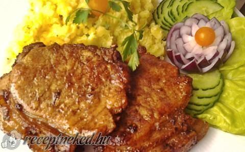 Fűszeres karaj szeletek recept fotóval