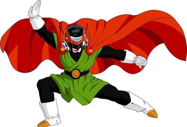 I actually really like the Great Saiyaman