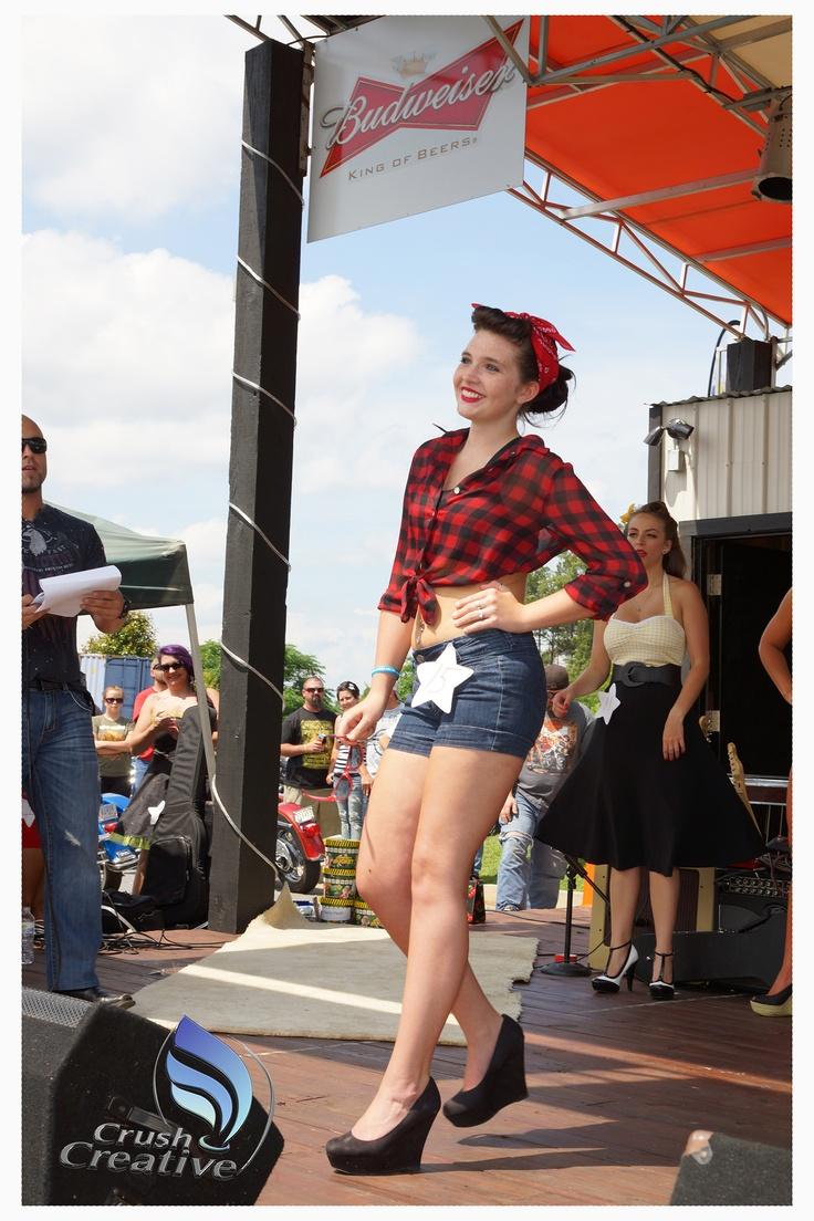 pin-up contest @ greenville harley davidson photocrush