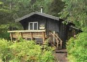 We can rent cabins from the forest service