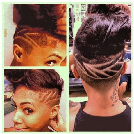 UNDERCUT / SHAVED HEAD WITH DESIGN   Undercut / Shaved ...