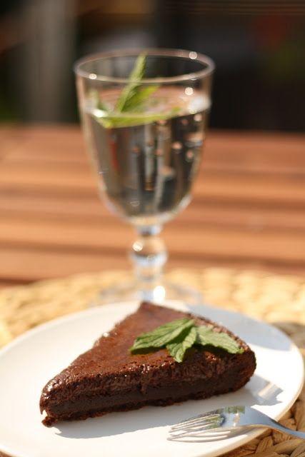 U nás na kopečku: Čokoládový dort bez mouky
