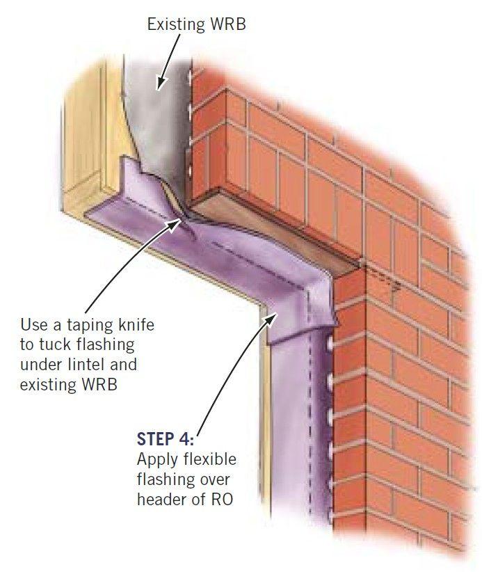 Replacing Windows In Brick Veneer Homes