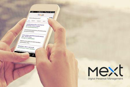 Téměř třetina mobilních vyhledávání využívá aktuální polohu zařízení. Buďte připraveni s #mextcz