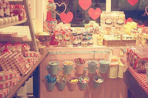 tienda de chuches vintage