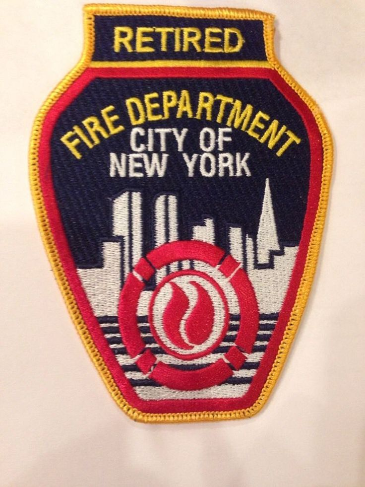 City Of New York Fire Department (FDNY) RETIRED Patch BRAND NEW! Last One!!