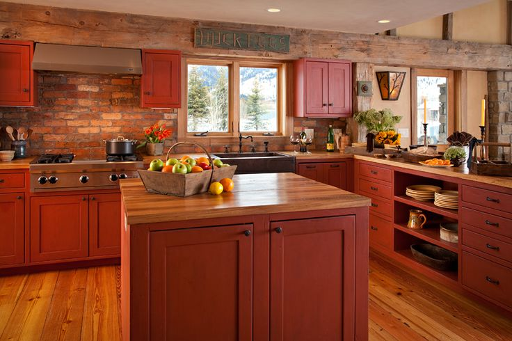 71 best home kitchen project images on pinterest home for Kitchen jackson hole