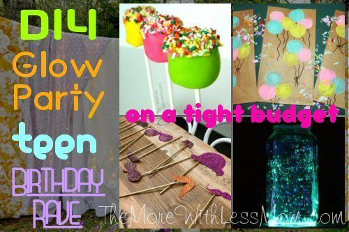 DIY Glow Party Teen Birthday Rave (on a tight budget)  2019  DIY Glow Party Teen…