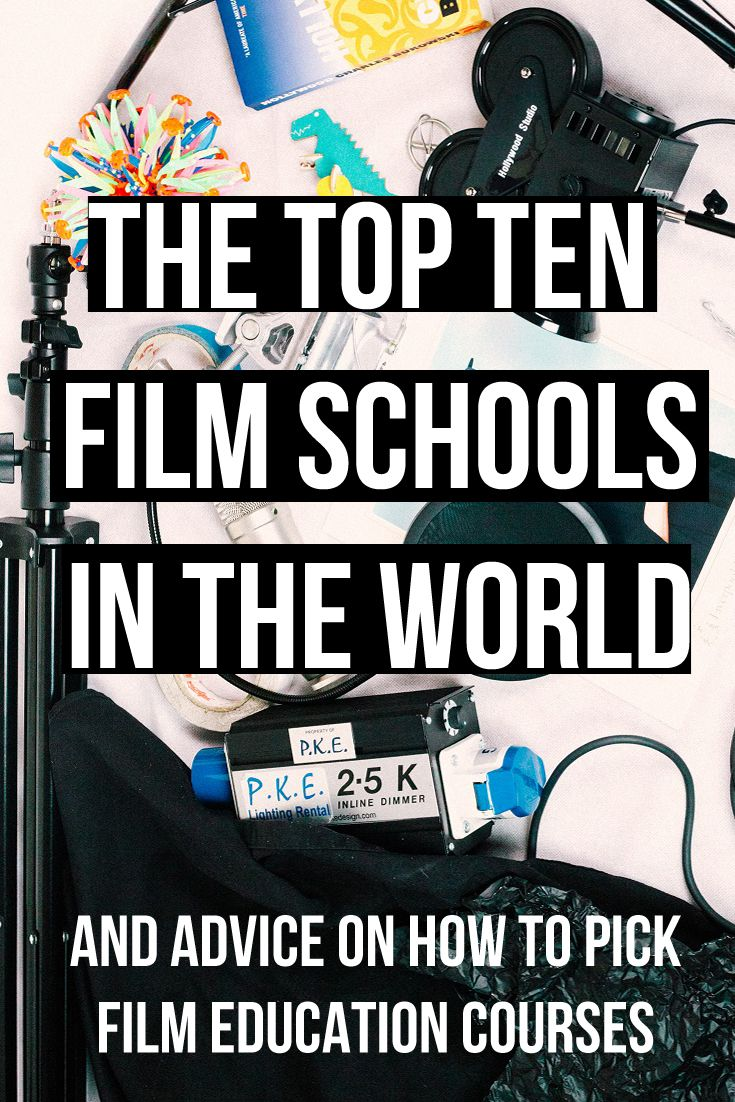 The Top Ten Film Schools In The World An Article Looking At How To Find