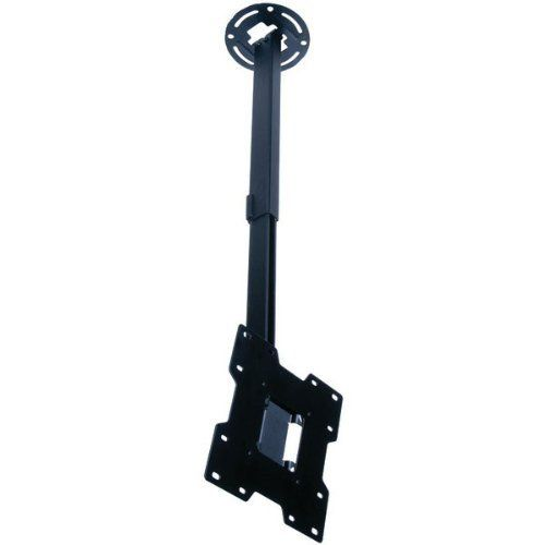 "Peerless PC932C Adjustable Tilt Ceiling Mount for 15"" to 37"" Displays with 20.25"" to 34"" Extension (Black) by Peerless. $67.95. FITS 15"" 37"" LCD SCREENS20"" 34"" DROP LENGTH+15 /-5 ADJUSTABLE TILT & 360 SWIVEL TO ACHIEVE IDEAL SCREEN VIEWING POSITIONINCREMENTAL LOCK FEATURE SECURES TILT IN PLACE IN 5 INCREMENTSINTERNAL CABLE MANAGEMENT ALLOWS CABLES TO BE ROUTED THROUGH EXTENSION COLUMNVESA 75/100/200 X 100/200 X 200 COMPATIBLEINCLUDES MOUNTING HARDWARE FOR WOOD STUDSBLACKUPC : ..."