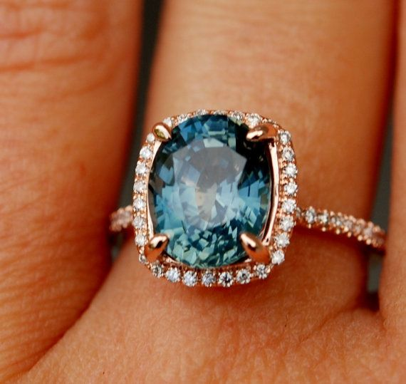 Best 25 Sapphire Engagement Rings Ideas On Pinterest