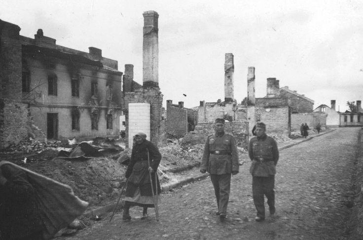 Skierniewice - zdjęcia niezidentyfikowane, Skierniewice - 1940 rok, stare zdjęcia