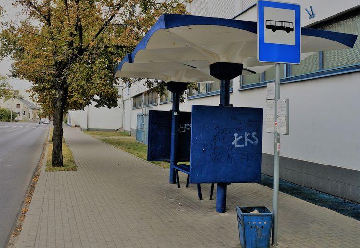 Włocławek  - przystanek autobusowy.