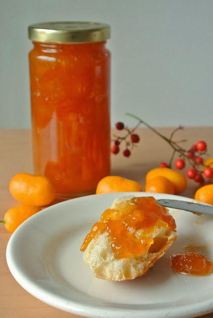 Kumquat marmalade. Kumquats look like mini oranges and make a delicious and sweet marmalade.