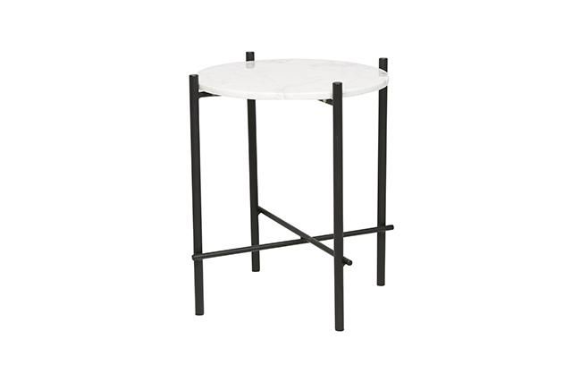 GlobeWest - Elle Pipe Side Table