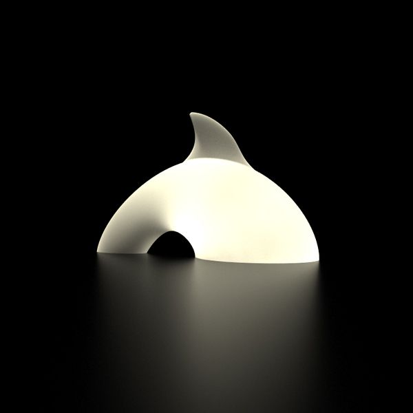 Dolphin Lamp by Mattia Masi