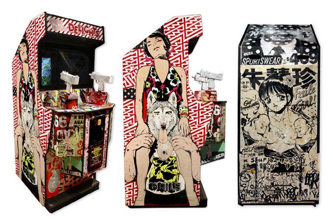Os excepcionais Bäst (ou BästNY) e Faile, ambos artistas norte-americanos, estão em cartaz em Londres com a exposição The Faile Bast Deluxx Fluxx Arcade 2010, na Lazarides Gallery. A expo recria o …