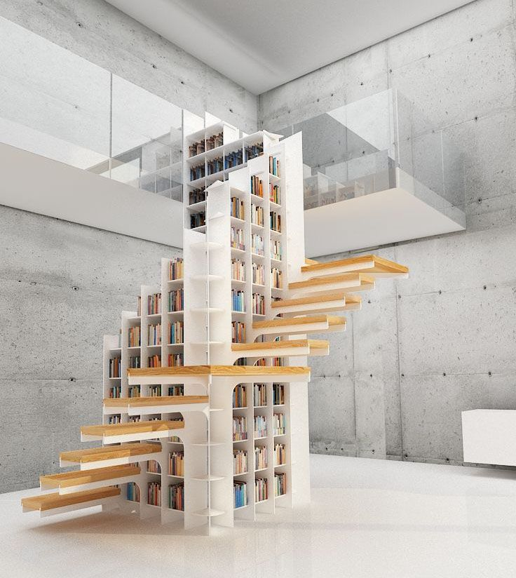 scala libreria design : Lucid Dreams archilovers: Most Repinned ?#?Pin? of the Week ...