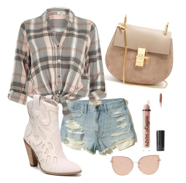 """""""Country"""" by tothmerci on Polyvore featuring Hollister Co., Chloé, River Island, Carlos by Carlos Santana, Topshop, Charlotte Russe and country"""
