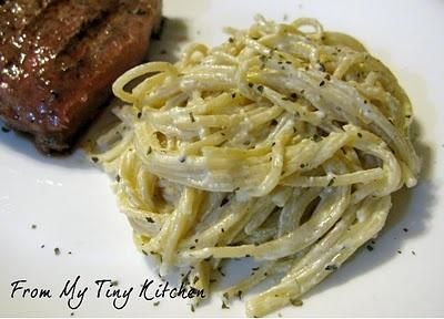 pasta aioli...i wanna make this!...and i did! it was so good! :)