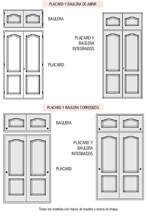 Top 17 idei despre frente de placard pe pinterest for Medidas de puertas interiores