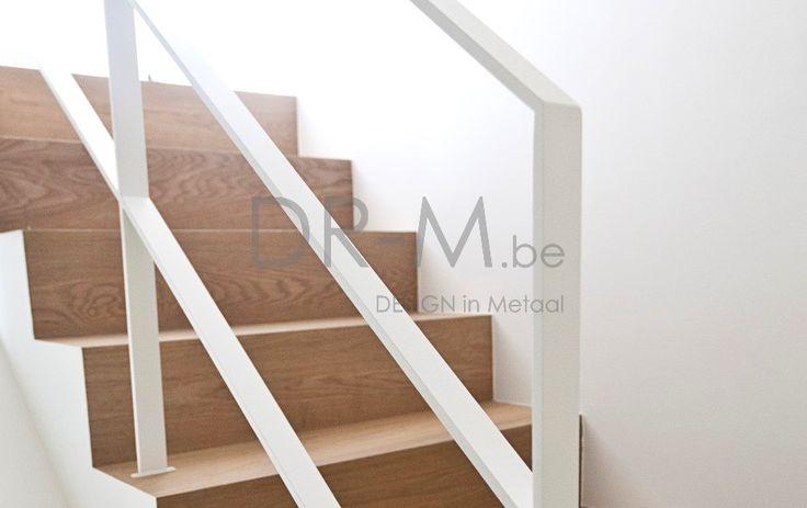 35 beste afbeeldingen van hal - Moderne houten trap ...