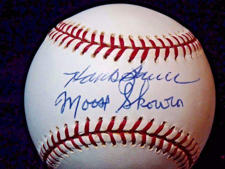 SIGNED Yankees Major League Baseball Moose Skowron Hank Bauer  #Yankees