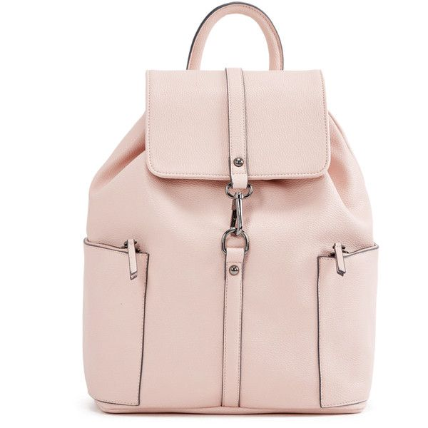 ShoeDazzle Bags Nicolae Backpack Womens Pink ❤ liked on Polyvore featuring  bags, backpacks, handbags, pink, wallets   cases, day pack backpack, ... 3b4eeb1b3f
