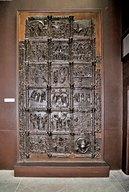 tLeft door from Saint Zeno, Verona [plaster cast]
