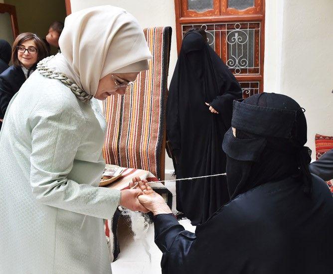 Presidency Of The Republic Of Turkey : First Lady Visits Sadu House in Kuwait