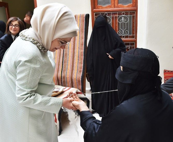 Presidency Of The Republic Of Turkey : First Lady Visits Sadu House in Kuwait