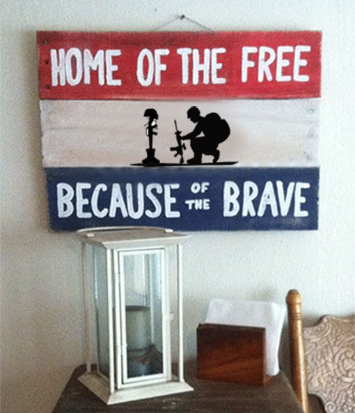 Americana Wall Decor Plaques Signs Amazing 18 Best Americana Pallet Signs Images On Pinterest  Pallet Wood Design Ideas