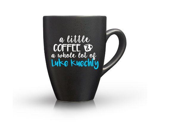 Luke Kuechly Coffee Mug // Carolina Panthers // Keep Pounding // Panther Nation Football Shirt // Football Addict // Sports Fan by DivaDesignsByDesirae on Etsy