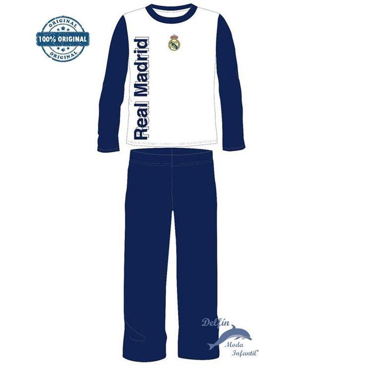 Pijama niño REAL MADRID algodón manga larga