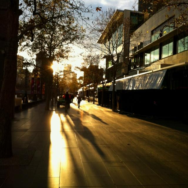Melbourne winter