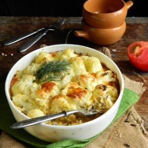 Запеканка из риса и цветной капусты. Пошаговый рецепт с фото, удобный поиск рецептов на Gastronom.ru