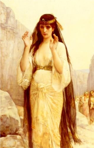 The Daughter of Jephthah - Alexandre Cabanel