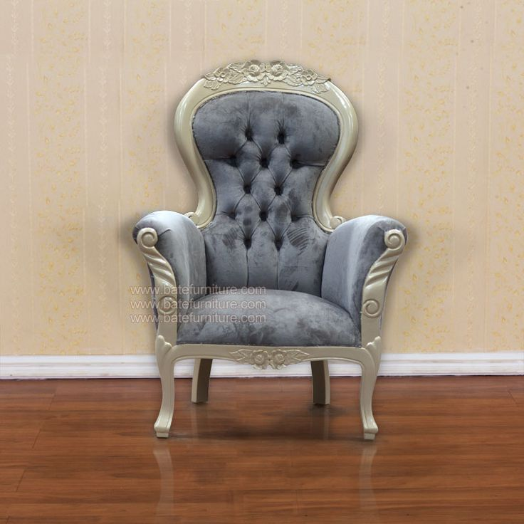 Grandfather-Chair-: Grandfather Chairs, Shops, Roqu Paris, Roque Paris, Grandmothers Armchairs, Paris Chairs, White Paintings, Chairs White, Products