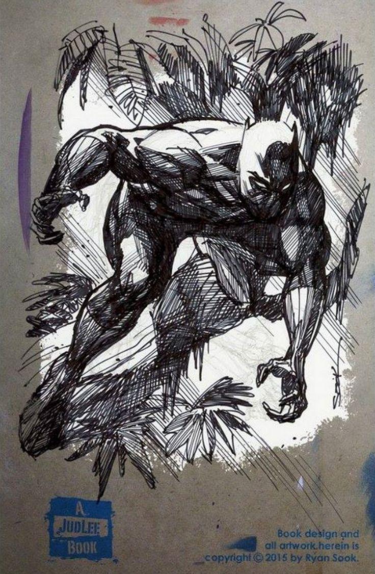 Black Panther by Ryan Sook *