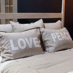 Pom Pom at Home Bedding Love/Peace Pillow Sham Set PPH94