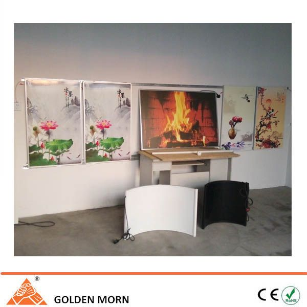 Our sample room for far infrared electric heater. www.sinoradiator.com